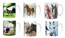 Red Horse Mug Cup Horses Horse Pony Gift Presents ALL PICTURES