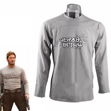 2017 Guardians of the Galaxy 2 Star-Lord t-Shirt Peter Jason Quill Cosplay Top