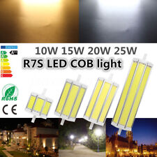 Dimmable R7S COB LED Replacement Security Flood Light Bulb Lamp 78/189MM 10-25W