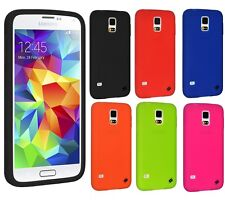 AMZER Ultra Thin Slim Silicone Gel Skin Jelly Case For Samsung Galaxy S5/ S5 Neo