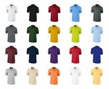 6a9ce2a2e5cf6 Gildan Men s Ultra 100% Cotton™ Polo Shirts combed Ringspun Short Sleeves  Polo