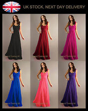 Long full length bridesmaid, prom, party, evening dress - choose size and colour