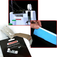 Janome Overlocker Taping Attachment to attach tape to seams