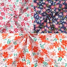 Country Scents Ditsy Blooming Flowers Floral Polycotton Fabric