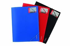 2 x A4 Document Folder with Elastic Cord – Document Wallet - Colours