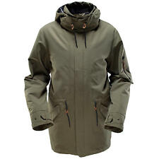 Ride Riot Men's Snow Jacket (Battle Ship Green)