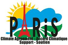 Global Warming Pollution Effects Support Paris Climate Change Agreement T Shirt