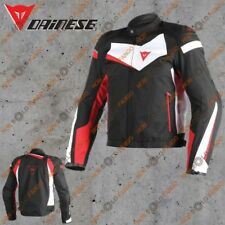 Giubbotto Dainese Veloster Tex Jacket Nero/Bianco/Rosso