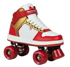 Rookie Hype Hi Top Rollerskate / Quads - Red / Gold