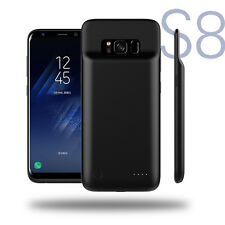 New External 4000mAH Akku Ladegerät Case Cover Power Bank For Samsung Galaxy S8