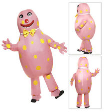 Smiffys Adults Official Licensed Mr Blobby Inflatable 90s TV Fancy Dress Costume