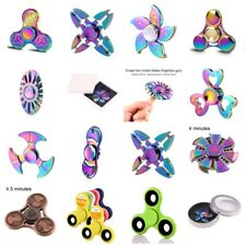 Fidget Finger Spinner Stress Reducer Anti-Anxiety Zinc Alloy Material Toys UK