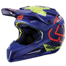 LEATT GPX 5.5 Composite V15 Casco da motocross BLU-LIME ENDURO MX MOTO QUAD