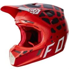 Fox 2017 Hombre Motocross / casco MTB - V3 GRAV - rojo Motocross Enduro MX Cross