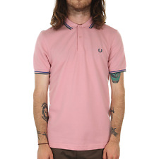 Fred Perry Twin Tipped Polo Shirt - Chalk