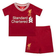 Liverpool FC LFC Baby Boy Home T-Shirt and Short Set 17/18 Official