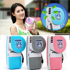 2017 Mini Air Conditioner Cooler Cooling Fan Hand Held USB/Battery Operation HA