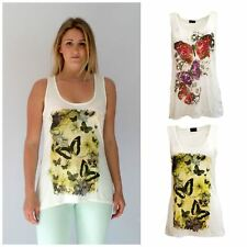 Pretty Butterfly Print Vest from MISO
