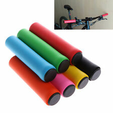 1 Pair Outdoor Race Bike Bicycle Cycling Silicone Anti-slip Handlebar Grips MTB