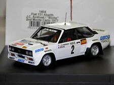 TROFEU 1405 1409 FIAT 131 ABARTH model rally car Darniche/Mahe/Rohrl 1977/8 1:43