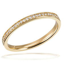 Goldmaid Damen-Ring Memoire Eternity 585 Gelbgold 55 Brillanten 0,17 ct. NEU