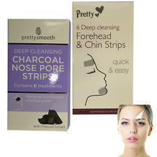 New Pretty Nose Pore Strips Blackhead Removal Unclog Pores Smooth Deep Cleansing