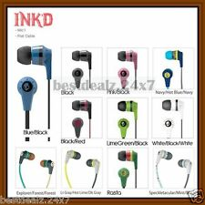 100% Original Sealed Pack Skullcandy Ink'd In-ear Handsfree Headset with Mic