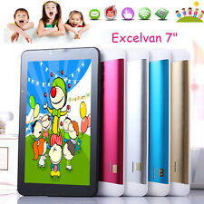 Kids Tablet PC 7'' Dual Core Android 4.4 8GB Dual Camera 1.2Ghz Wi-Fi Bluetooth