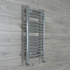 400mm Wide 800mm High Chrome Heated Towel Rail Radiator Central Heating Straight