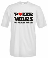 Maglia Poker Wars D15 may thr flop with you Texas Hold'em Asso Gioco T-shirt