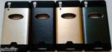 ✔ For Lenovo A6000 A6000+ Plus MOTOMO Metallic Finish Hard Back Case Cover ✔
