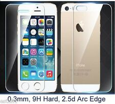 Front & Back Tempered Glass Screen Guard Protector Apple iPhone 4/4s/5/5s6/6s/7