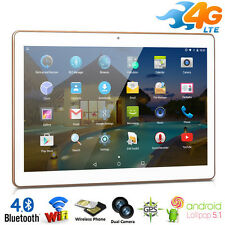"10""pulgadas 4G Teléfono Call Android 5.1 Tablet PC 16GB Dual SIM/Cám Quad Core"