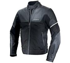 Giacca Moto Pelle Spidi Step-in Ride H2out 4 Stagioni Impermeabile Black