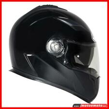 Casco Moto Integrale Suomy Halo Nero Opaco Doppia Visiera Matt Black