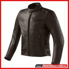 Giacca Moto Pelle Rev'it Flatbush Vintage Marrone Revit Morbida Classic Custom