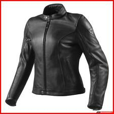 Giacca Moto Pelle Donna Rev'it Roamer Lady Revit Morbida Cassic Custom Touring