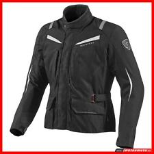 Giacca Moto Rev'it  Voltiac ladies lady Black White Donna Touring Impermeabile