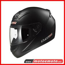 Ls2 Casco Moto Scooter Integrale FF352 Rookie Nero Opaco