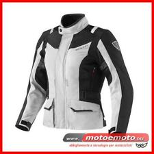 Giacca Moto Rev'it  Voltiac ladies lady Argento Nera Donna Touring Impermeabile
