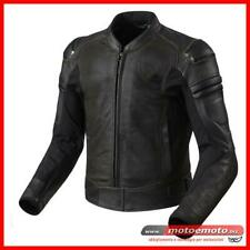 Giacca Moto Pelle Rev'it Akira Vintage Air Dark Brown Revit Cafè Custom Touring