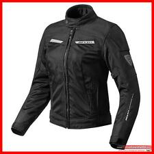 Revit Giacca Moto Donna Traforata Airwave 2 Lady Nera Estiva Rev'it