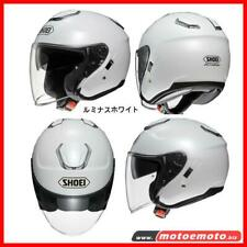 Casco Jet Shoei J Cruise Bianco Moto Scooter