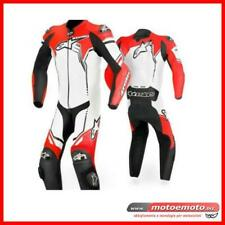 Alpinestars Tuta Moto Racing Gp Plus Rosso Fluo Special Edition 233 Pelle Intera