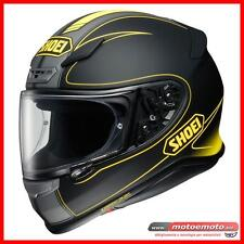 Casco Moto Integrale Fibra Shoei Nxr Flagger TC 3 Limited Nero Giallo Opaco