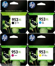 HP NO 953xl (Multipack) Negro, cian, Imán & Amarillo Original OEM