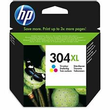 1x HP NO 304xl ALTA CAPACIDAD COLOR ORIGINAL OEM Cartucho de Tinta n9k08ae