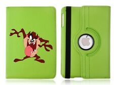 Personalised Taz 360 Rotating Case Cover for ALL Apple iPad tablets
