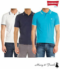 Polo Uomo CARRERA Manica Corta Cotone Piquet Regular Fit 3 Varianti Tg. M-L-XL-X