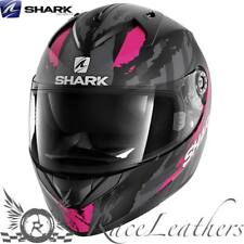 SHARK ridill Riddle Oxido Negro Rosa Moto Casco de Scooter